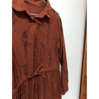 🚚 日系古著洋裝