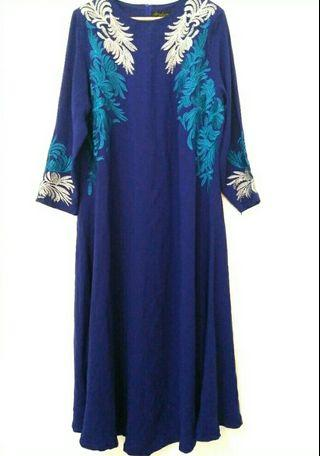 Electric Blue Jubah