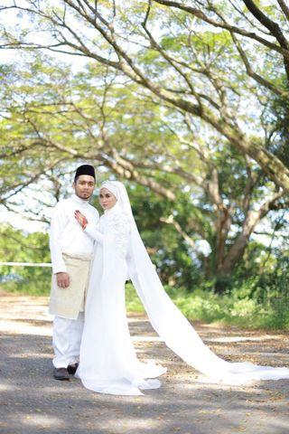 Baju pengantin perempuan untuk di sewa. Design sama macam fiziwoo.