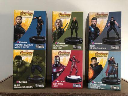 2018 Petron Avengers Infinity Wars Collection (Complete Set)