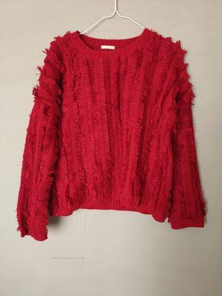 Sweater Red Fashion