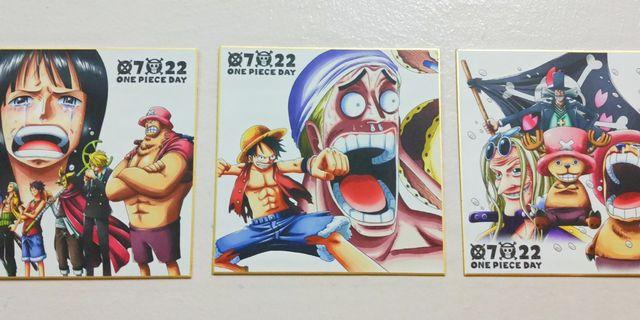 One Piece Card Board Poster