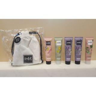 Makeup Remover/Facial Cleanser/Scrub/Shower Gel/Souffle Sampler Size Buffet!