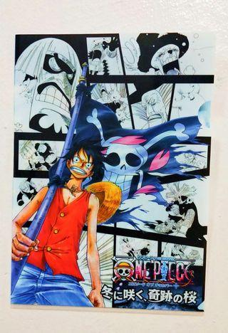 One Piece Winter Movie Limited Edition A4 size File Folder