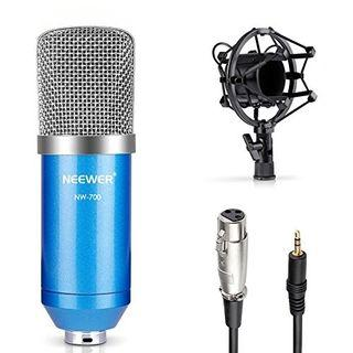 Free Delivery(JG35) Neewer NW-700 Professional Studio Broadcasting & Recording Condenser Microphone Set Neewer NW-700 Professional Studio Broadcasting & Recording Condenser Microphone Set #AmplifyJuly35