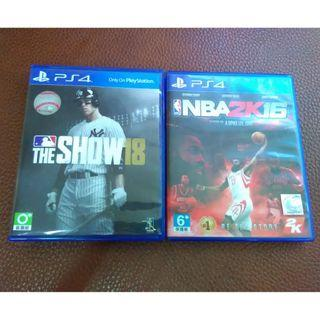 [PS4] The Show 18 / NBA 2K16