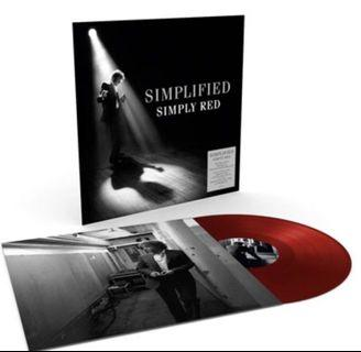 Simply Red - Simplified (Limited Red Vinyl LP)