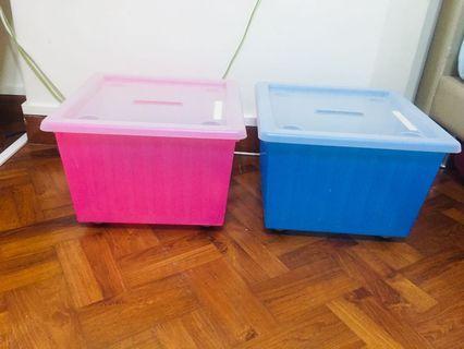 Vessala Storage Boxes 39x39cm