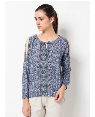Lucy Top Printed