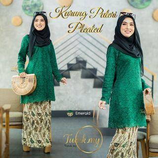 🚚 Kurung Puteri Pleated by Tunikmy (Preorder)