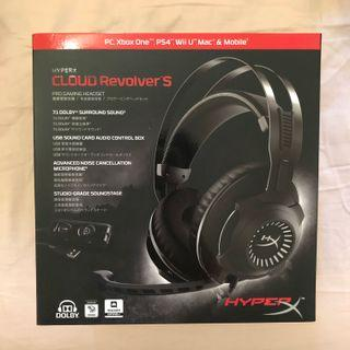HyperX Cloud Revolver S surround sound pro gaming headset