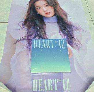 IZ*ONE album HEART IZ