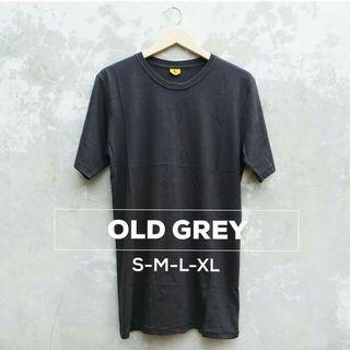 Old grey cotton t shirt