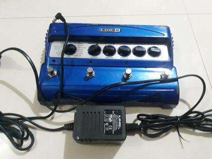 Dijual Efek Gitar Line 6 Modulation Modeler MM4