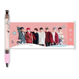 🚚 BTS Photo Gift Pen