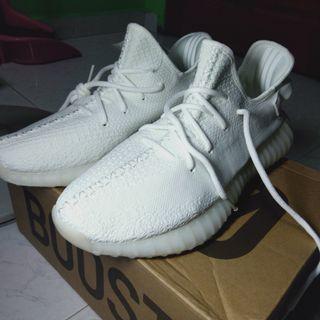🚚 ADIDAS Yeezy Boost 350 V2 Cream White