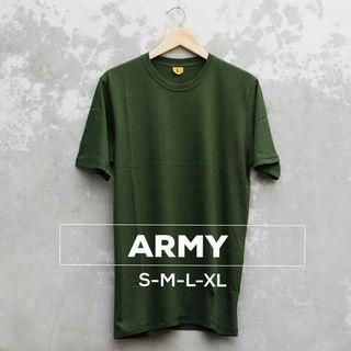 Army cotton t shirt