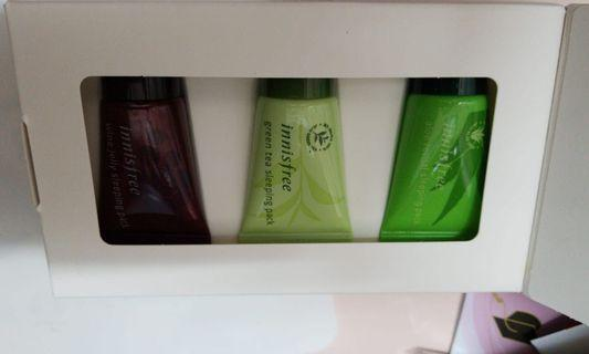 Innisfree  green tea pack