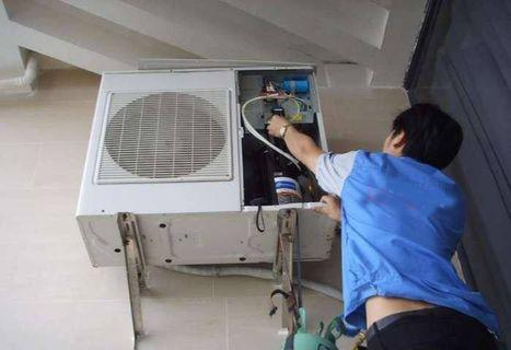 Aircond Service Chemical Wash Electrical Wiring Service Aircond