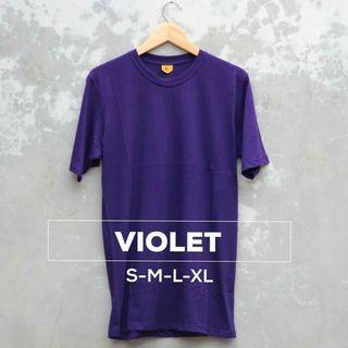 Violet cotton t shirt