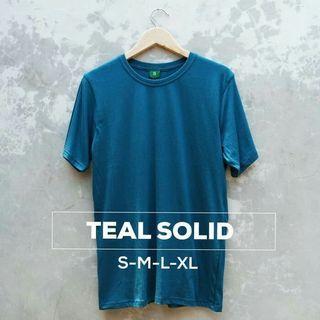 Teal cotton t shirt
