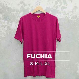 Fuchia cotton t shirt