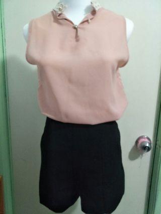 韓版清涼無袖上衣