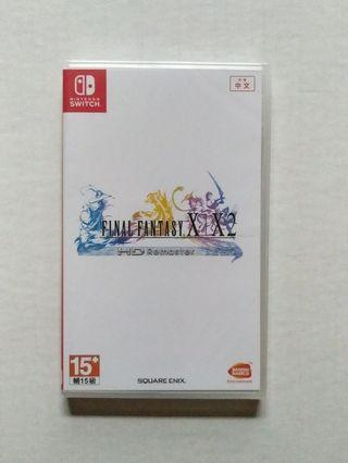Final Fantasy X X-2 HD Remaster Nintendo Switch