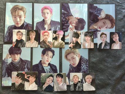 MONSTA X WE ARE HERE 2019 WORLD TOUR PHOTOCARD POSTCARD SET