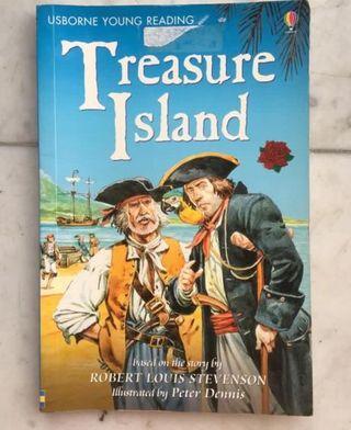 Treasure Island 小學英文reading 原版英文故事書
