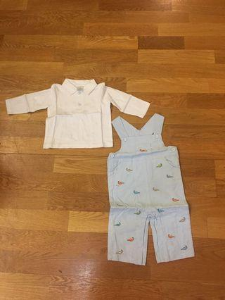 Babies top and jumpsuit