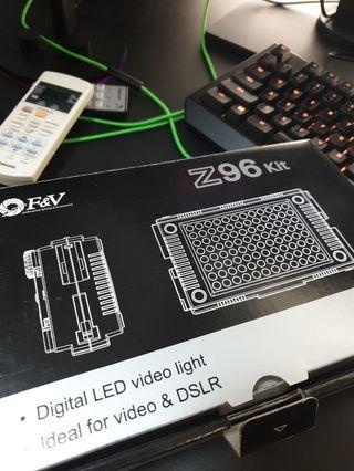🚚 F&V Z96 Digital LED Light