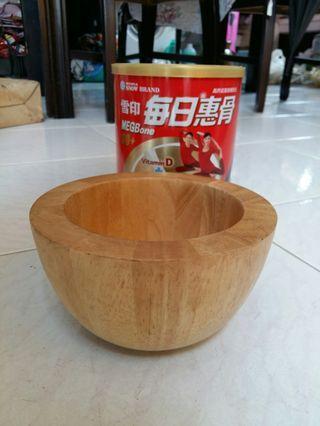 木頭碗 擺設品
