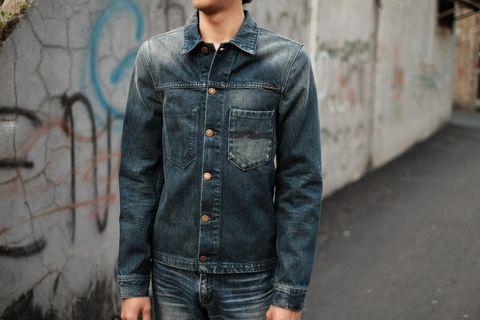 Jaket Jeans Nudie Ronny Original not Momotaro