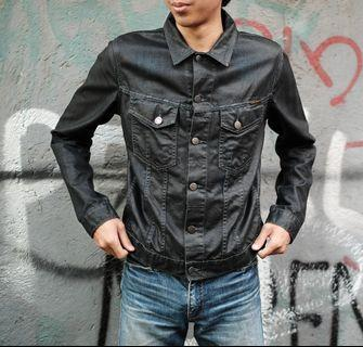 Jaket Jeans Nudie Terry Coated Denim Made in Italy