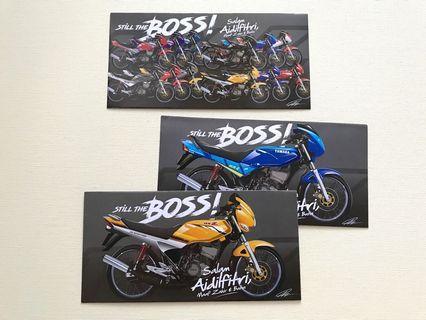 3pcs Yamaha 2019 Motorbike raya packet / sampul raya sdr