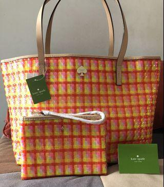 Kate Spade Jelly Groove Tote Bag