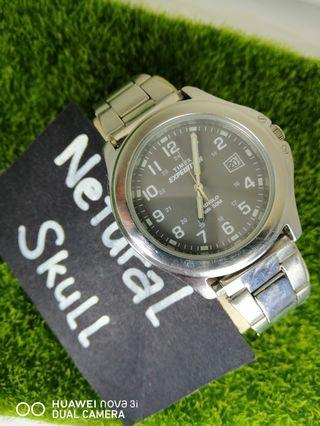 TIMEX EXPEDITION INDIGLO WITH DATE ANALOG QUARTZ