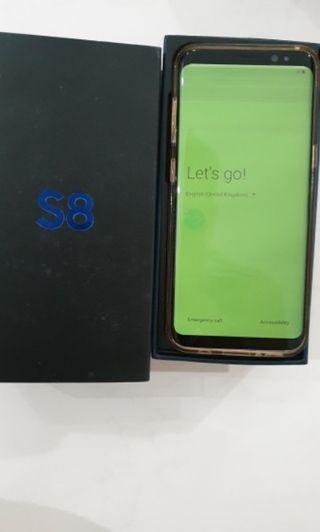 S8 64GB Rose Pink - faulty display
