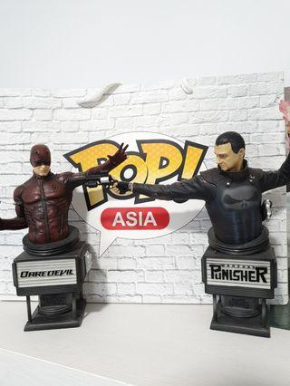 Daredevil and Punisher Bust