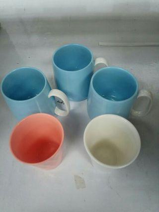 這一堆 五個一起賣**陶瓷馬克杯*3+陶瓷杯*2