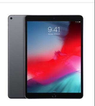 IPad Air Wi-Fi 3rd Gene 2019 ( brand New, sealed  Space Grey
