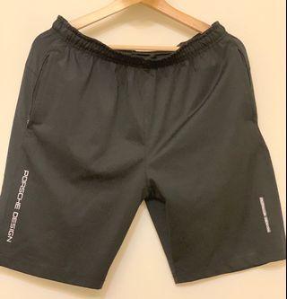 🚚 Adidas NEO Porsche Design 黑色 口袋拉鍊 短褲