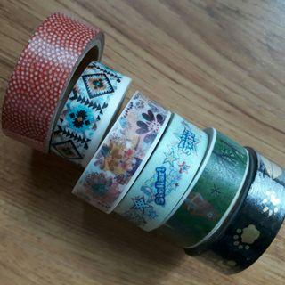 Washi Tapes: take all for P80