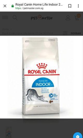 🚚 4kg unopened royal canin dry food