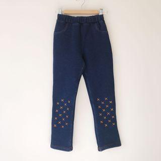 Girls inner fleeced pants size 8
