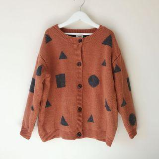 *NEW* Girls thick knit cardigan size 8-9
