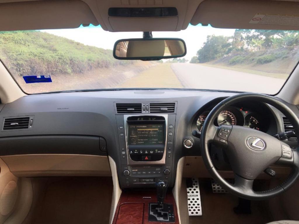 2007/11 Lexus GS300 3.0 FACELIFT (A) B/L Loan Kedai Dp 5k