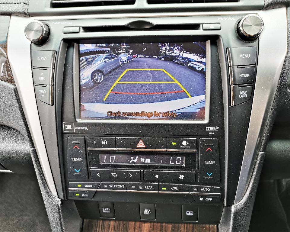 2017 Toyota CAMRY 2.5 HYBRID LUXURY (A)TIPTOP UNDER WARRANTY