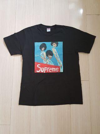 Supreme Black Group Tee M 99%new